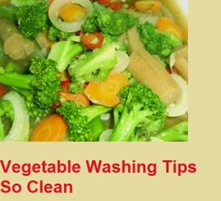 Vegetable Washing Tips So Clean