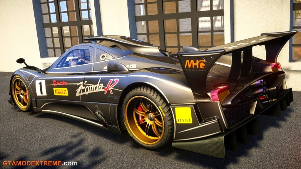 Baixar carro Pagani Zonda R Para GTA IV