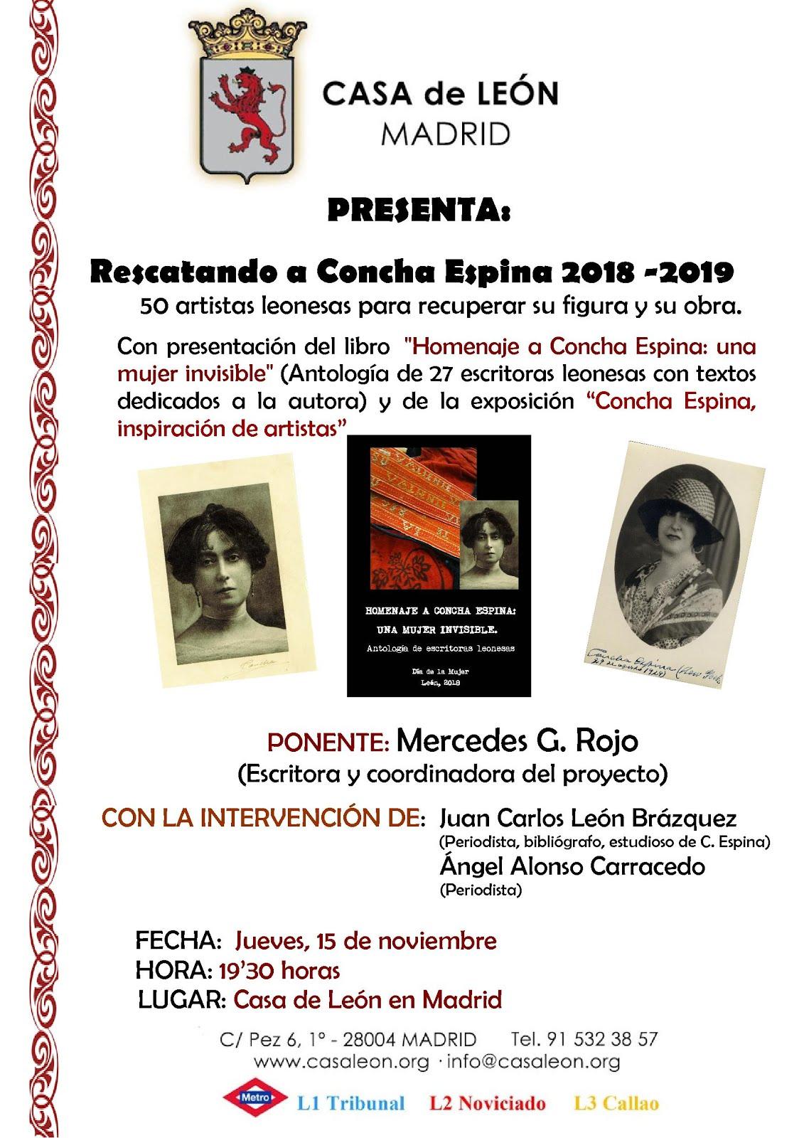 Rescatando a Concha Espina 2018-19