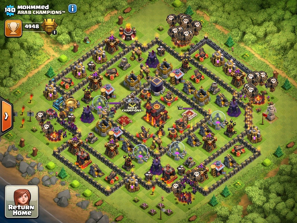 how to build your village in clash of clans