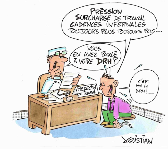 Ogmia blog des assurances collectives stress au travail for Stress travail