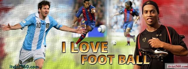 Ảnh bìa Facebook bóng đá - Cover FB timeline Football,