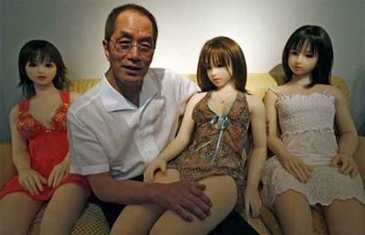 """Đàn ông Nhật bản thích """"Búp bê tình dục"""" hơn Gái đẹp 10"""