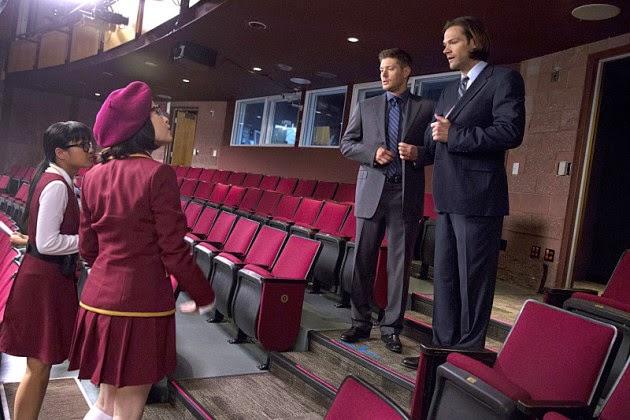 Supernatural S10E05. Los Winchester llegan al teatro