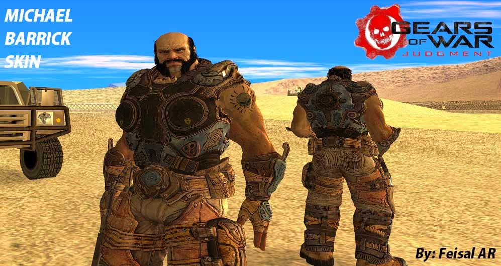 michael barrick gears of war gta