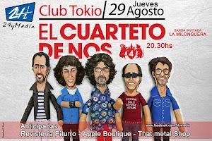 EL CUARTETO DE NOS EN POSADAS!!! JUEVES 29DE AGOSTO 2013