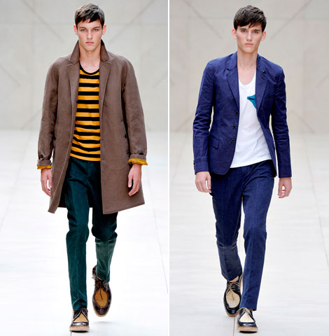 Burberry Spring/Summer 2012 Menswear