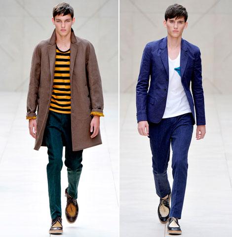Burberry Spring/Summer 2012 Menswear