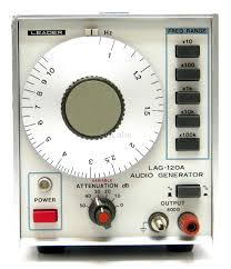 Audio Generator LEADER LAG-120