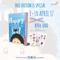 [Preorder] HAPPY LITTLE SOUL – RETNO HENING [Bonus : Mix & Match Kirana] Periode : 01 – 10 April 20