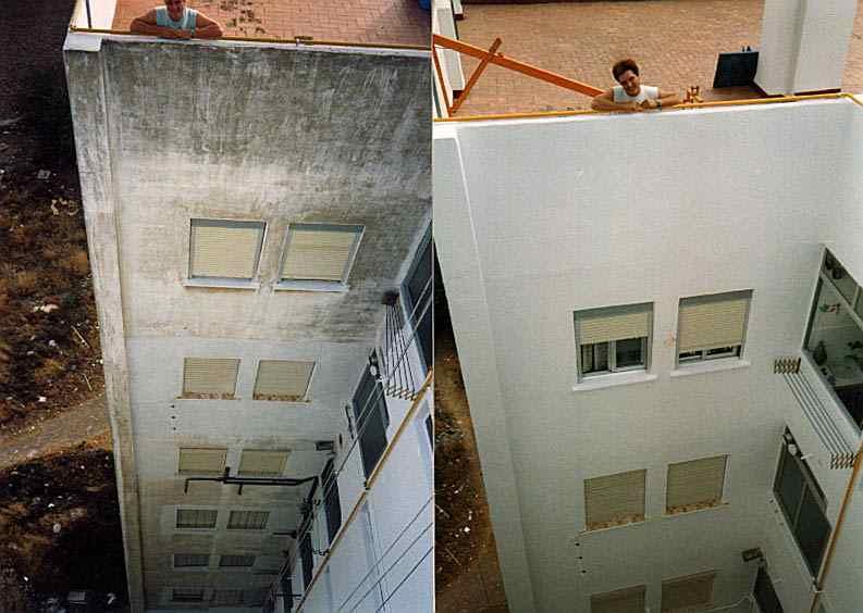 Vtp pinturas impermeabilizaci n de fachadas deslunados - Pintura para impermeabilizar terrazas ...