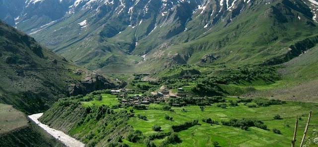 Zangskar valley