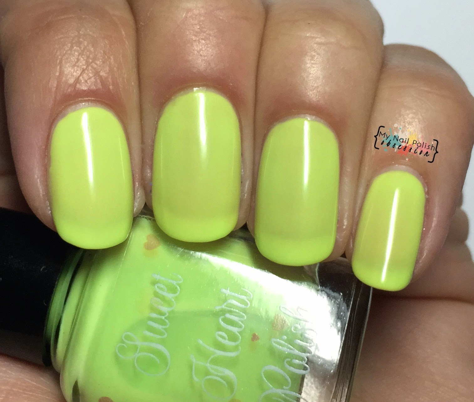 Sweet Heart Polish Key Lime Pie