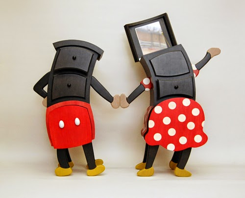 micky minnie cheery cabinet designs