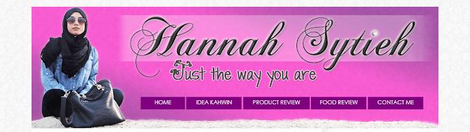 Tempahan Design Blog Hannah Sytieh