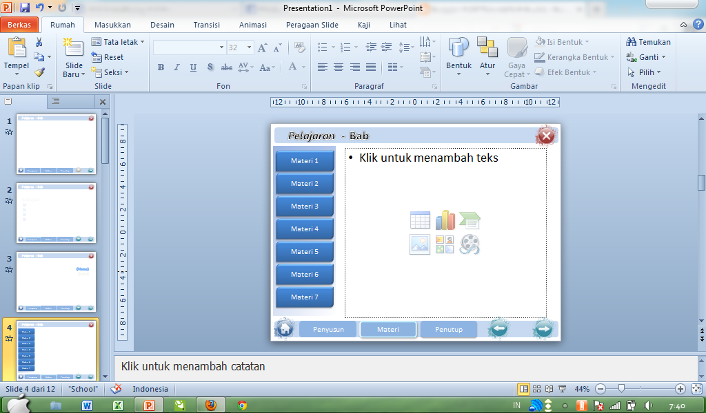 template microsoft office powerpoint