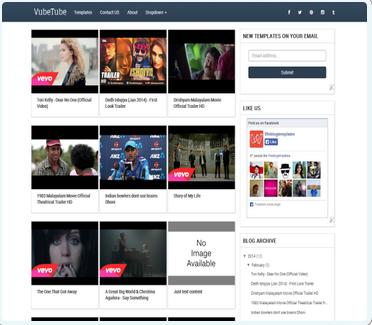 dove trovare temi modelli gratis per blogspot