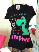Dino Awesome Tee