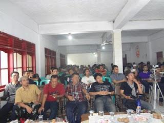 foto sewaktu acara workshop komunitas Blogger Tasikmalaya di pesantren al-munawwar