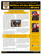 Sheriff's Newsletter- Winter 2018