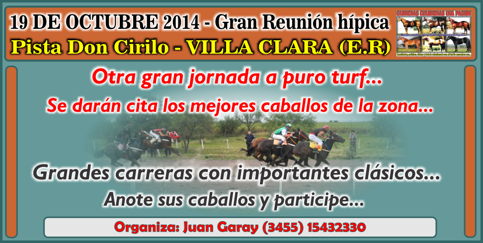 VILLA CLARA - REUNION 19.10.2014