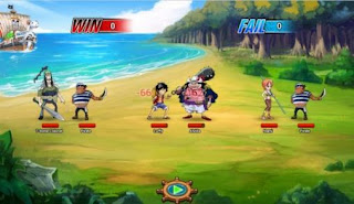 Screenshots of the One piece: The will of D for Android tablet, phone.