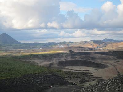Skutustadir pseudocraters, Iceland