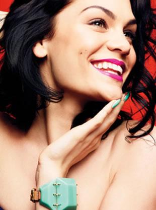 Jessie J para a Glamour US (Foto: Reprodução)
