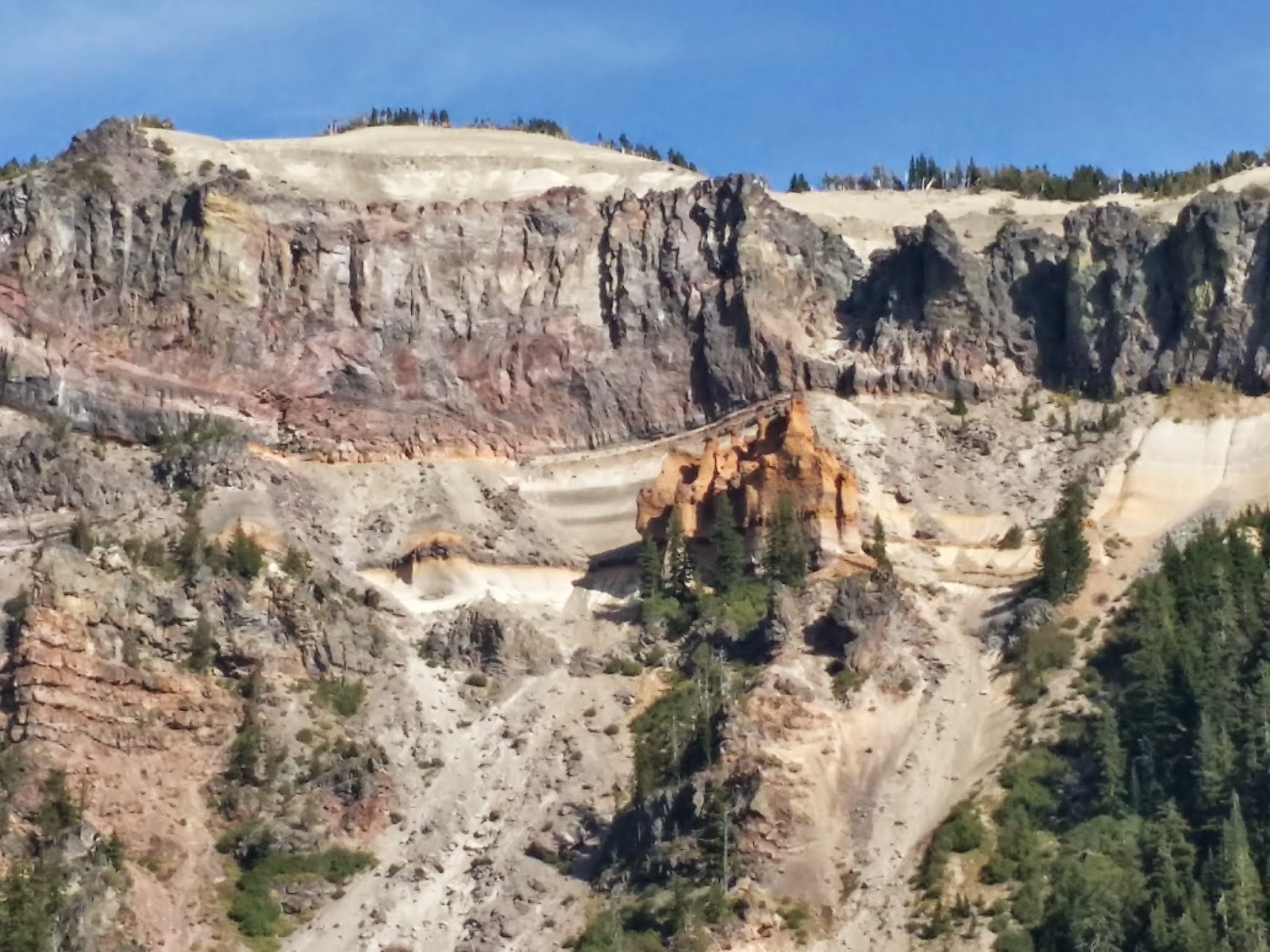 Pumice Castle at Crater Lake