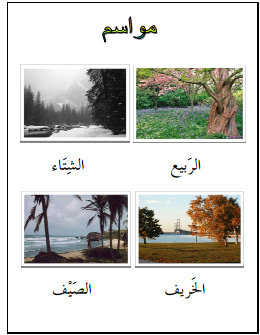 Learn arabic vocabulary with pictures