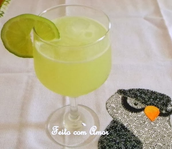 Limonada resfrescante