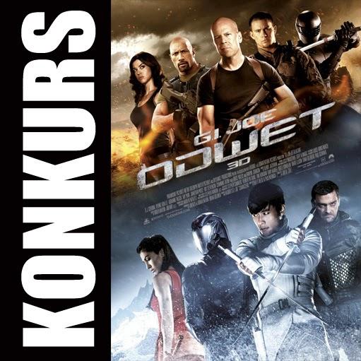 KONKURS #1 - G.I. Joe: ODWET - płyta DVD
