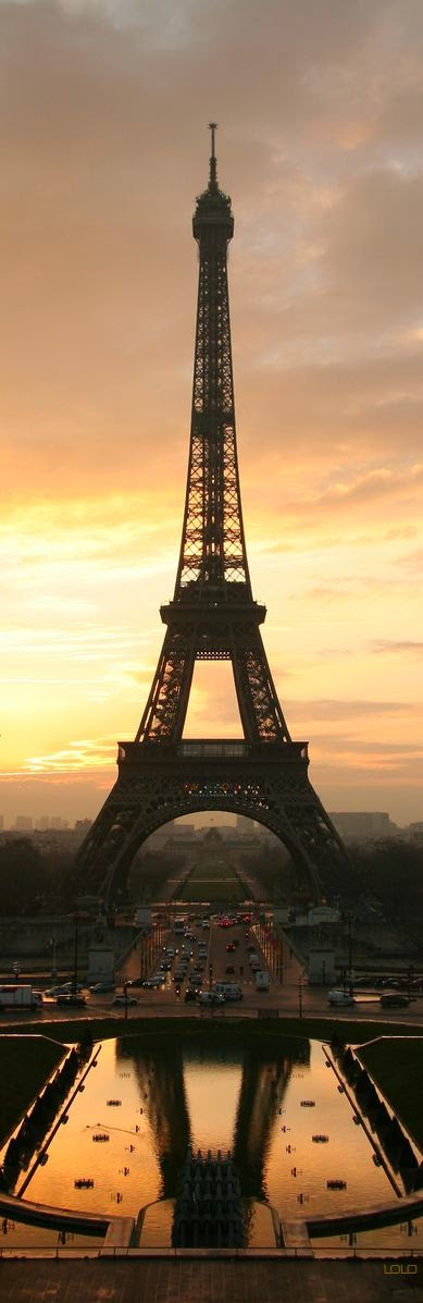 """stunning image of the eiffel tower"""