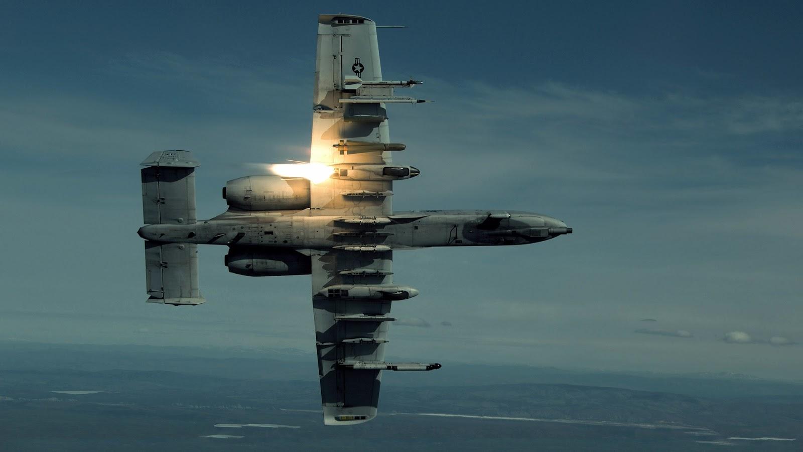 A10 Jet Plane | Full HD Desktop Wallpapers 1080p