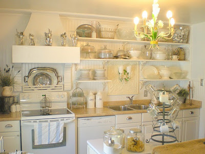 Kitchen Decorating Ideasbudget on French Farmhouse Kitchen Remodel Completed On A Budget