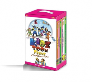 Flipkart: Buy The Kidz Toon Films Collection (Movie, 6 DVDs) + Free Sherlock Undercover Dog DVD at Rs. 470