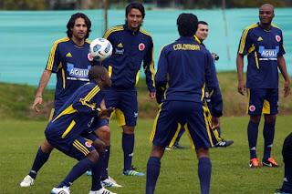 Colombia Concentración para Copa América