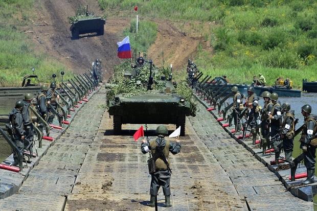 Gelar Latihan Perang Terbesar Rusia Libatkan 95 Ribu Tentara