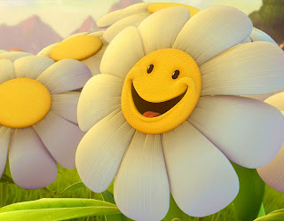Smiley Flower Happy! Love Wallpaper