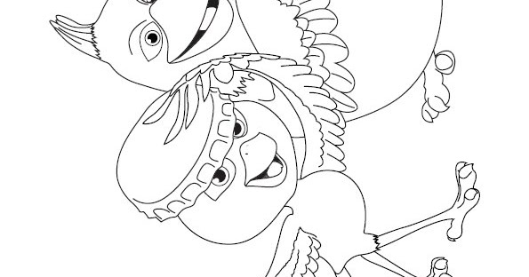 Rio 2 Coloring Pages Pdf : Coloring activity pages nico pedro from quot rio