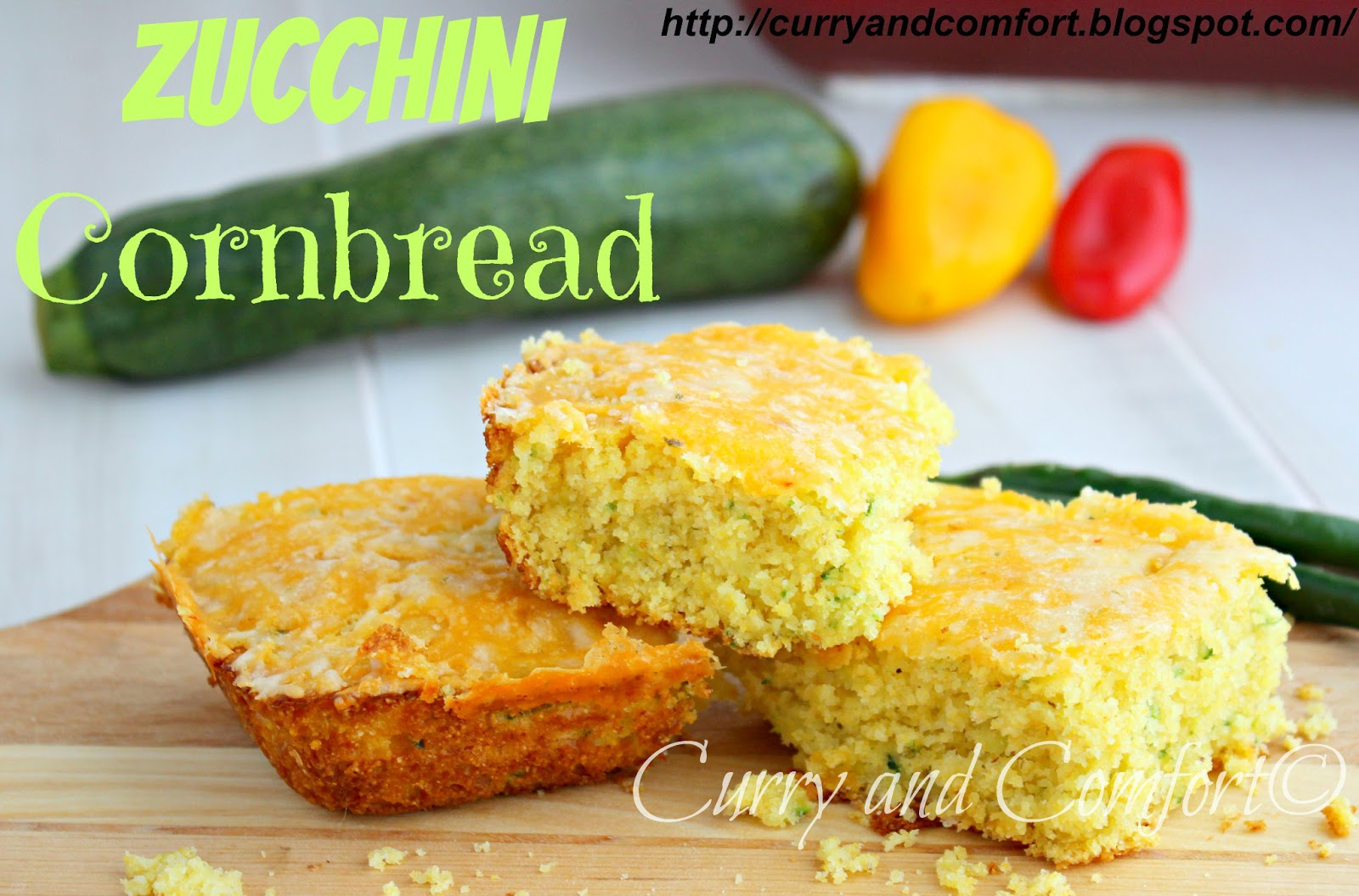 Kitchen Simmer: Zucchini Cornbread (Throwback Thursday)