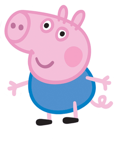 George el el hermano de peppa