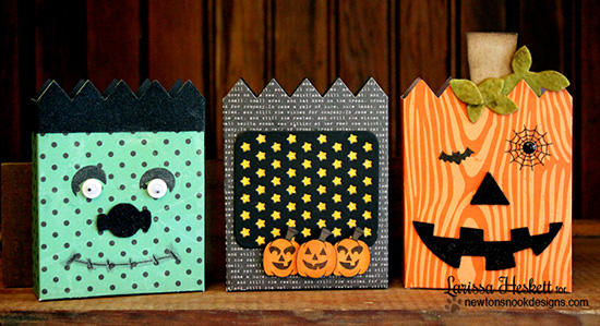 Halloween Treat Holders by Larissa Heskett for Newton's Nook Designs