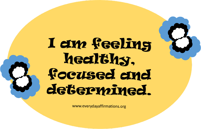 Affirmations Poster, Affirmations for Health, Affirmations for Weight-loss