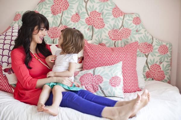Peaceful Home Decor: Caitlin Wilson!