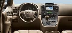 New Kia Sedona 2011 Interior