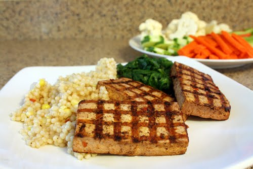 Harissa grilled tofu for food network monthly vegan appetite with temperatures in the 90s and crazy humidity i havent even been keen on grilling hard to believe i know since its one of my favorite things forumfinder Image collections