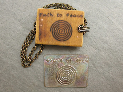 International Day of Peace Pendant
