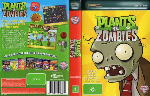 plants vs zombies computer
