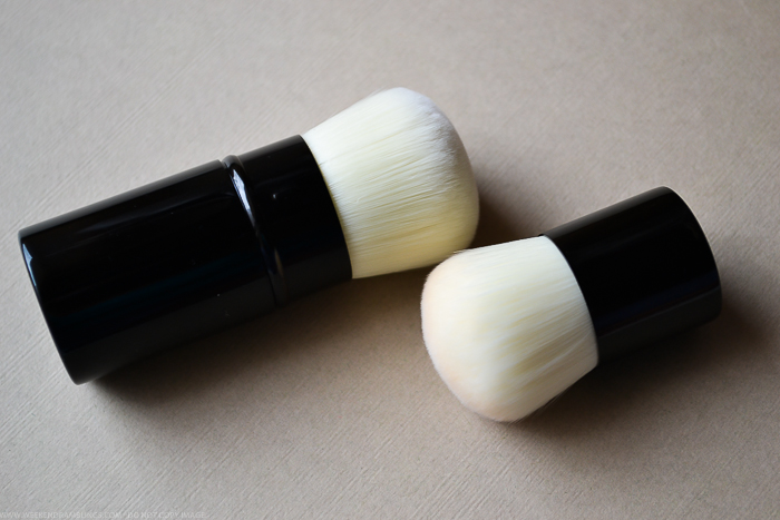 Chanel Vitalumiere Loose Powder Foundation Mini Kabuki Retractable Brush